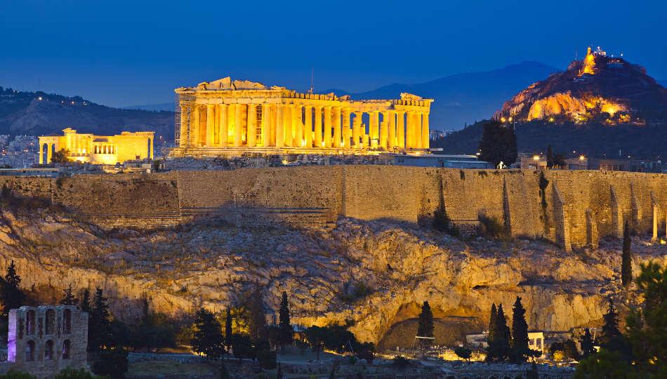Capodanno ad Atene con voli da Napoli
