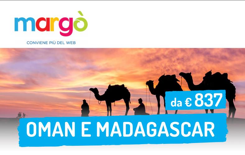 Oman e Madagascar da Euro 837,00
