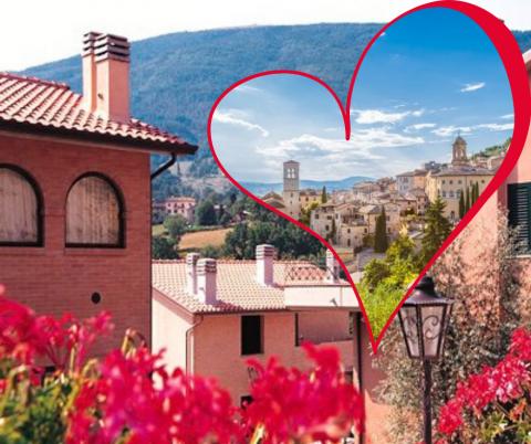 14-16 FebbraioTour Porta un Amico Romantico ad Assisi ...