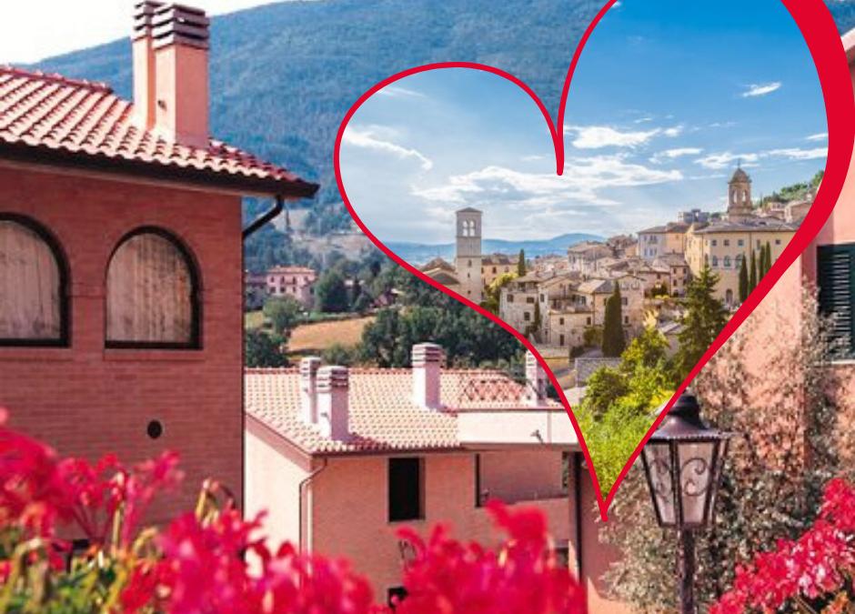 14-16 FebbraioTour Porta un Amico Romantico ad Assisi