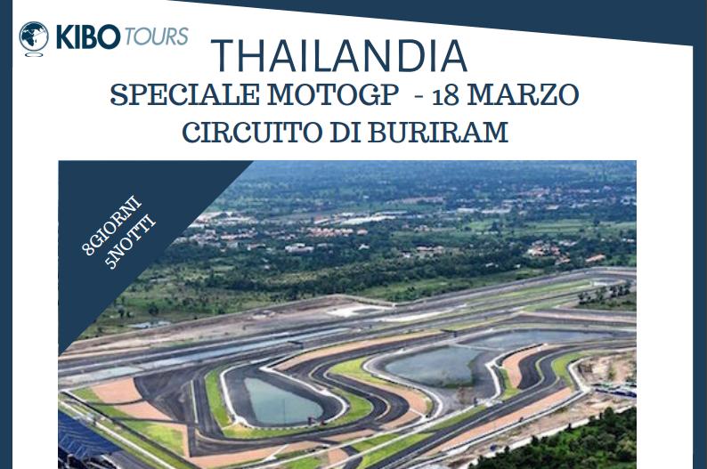 Appassionato di moto? Vivi il Motomondiale in Thailandia