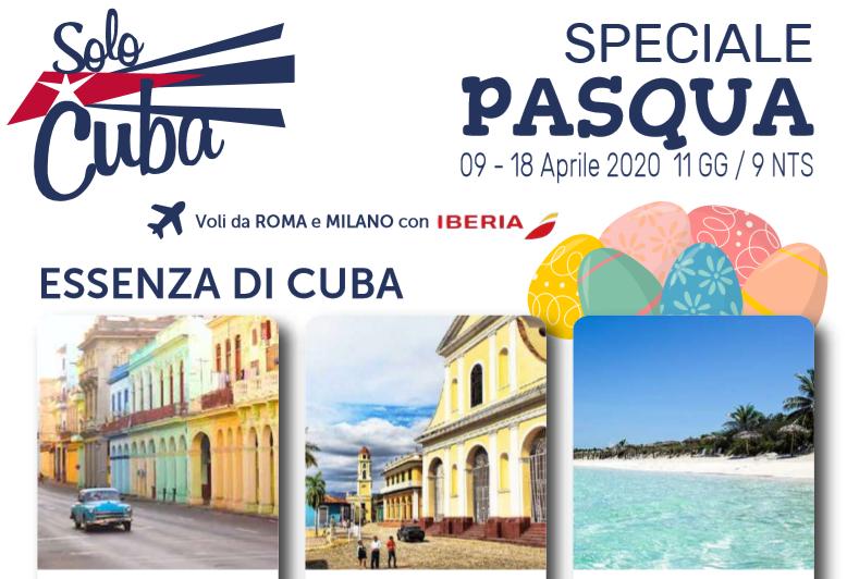 Pasqua a Cuba partenze garantite