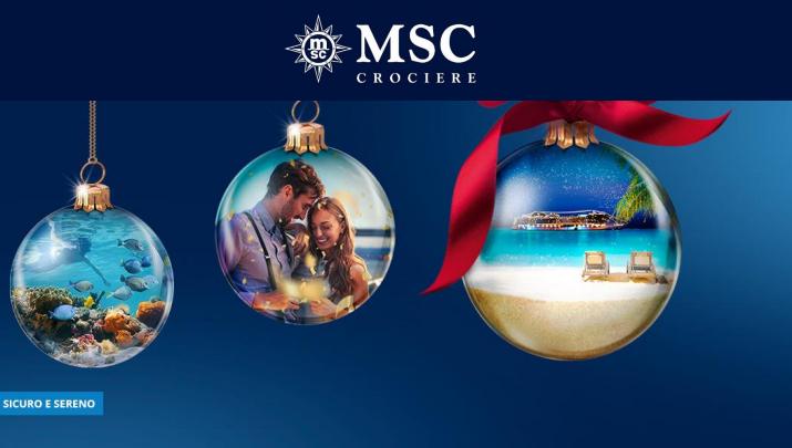 A Natale regala il 2021 di MSC Crociere