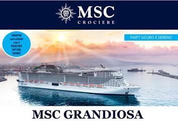 MSC Grandiosa Speciale partenze Marzo