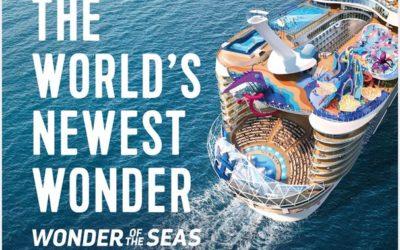 WONDER OF THE SEAS – PRENOTA ORA L'EUROPA 2022